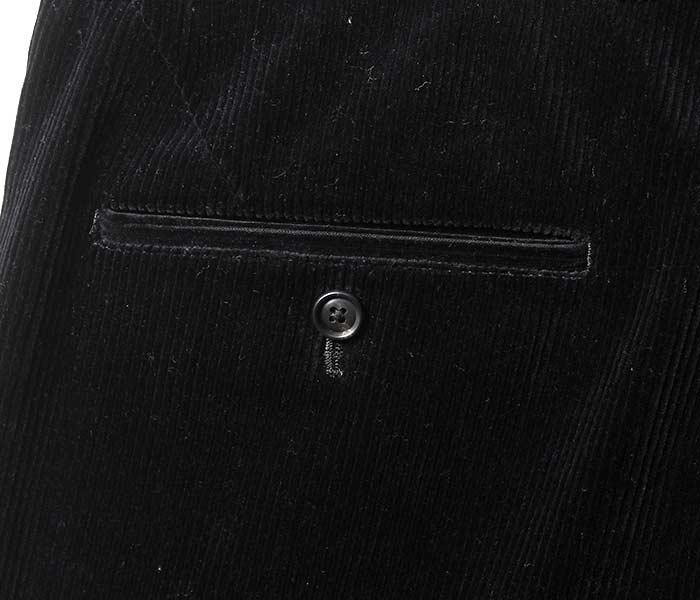 [送料無料]サイ/SCYE 日本製 ルーズフィットテーパード コーデュロイパンツ スラックス イシスコットンコーデュロイ 2018AW (1118-83011)