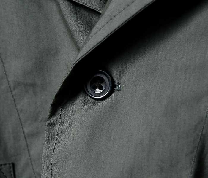 SCYE サイ 日本製 キャンプカラー プルオーバーシャツ オープンカラー 先染高密度コットン (1119-31080)