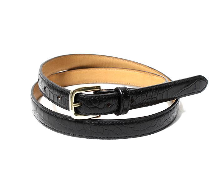 SCYE サイ 日本製 クロコ 型押し レザー ベルト Press Croco Dress Belt (3319-31309)