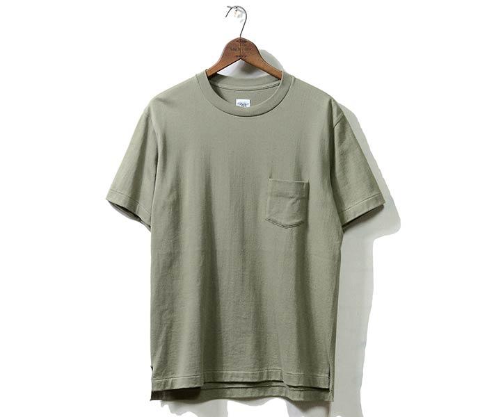 [送料無料]サイベーシックス/SCYE BASICS 日本製 度詰 ポケットTシャツ ポケT 吊り天竺 丸胴 (SCYE-HEAVY-PK-TEE(5118-21580))