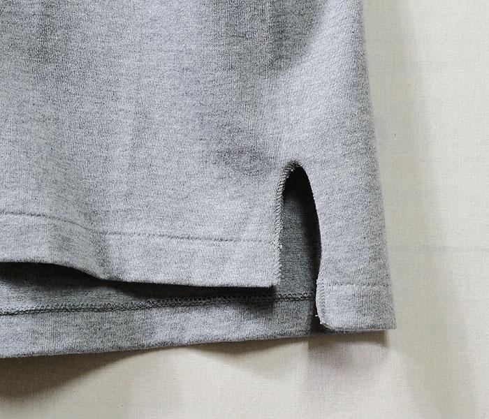 [送料無料]サイベーシックス/SCYE BASICS 日本製 TOP杢 度詰 ポケットTシャツ ポケT 吊り天竺 丸胴 (5118-21610)