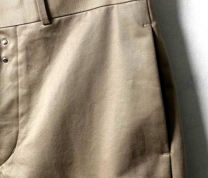 [送料無料]サイベーシックス/SCYE BASICS 日本製 ルーズフィット チノパン サンホアキン綿 ムラ糸 ルーズフィットテーパード (SCYE-TAPERED-LOOSE-FIT(5118-83511))