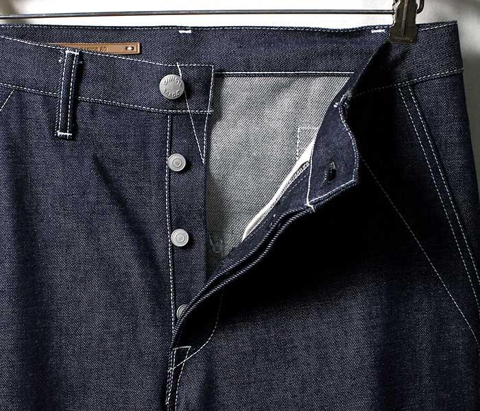 SCYE BASICS サイ ベーシックス 日本製 デニム ワイドストレート パンツ ワークパンツ 2019SS DENIM WIDE STRAIGHT PANTS (5119-81521)