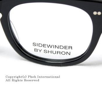 シュロン/SHURON アメリカ製''サイドワインダー''ウェリントン型メガネ(眼鏡)【SIDE WINDER】