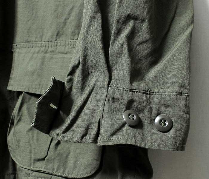 [送料無料]デッドストック/DEADSTOCK 聖林公司 69年製 ジャングルファティーグジャケット リップストップ JUNGLE FATIGUE JACKET (FATIGUE-JACKET-700062013)