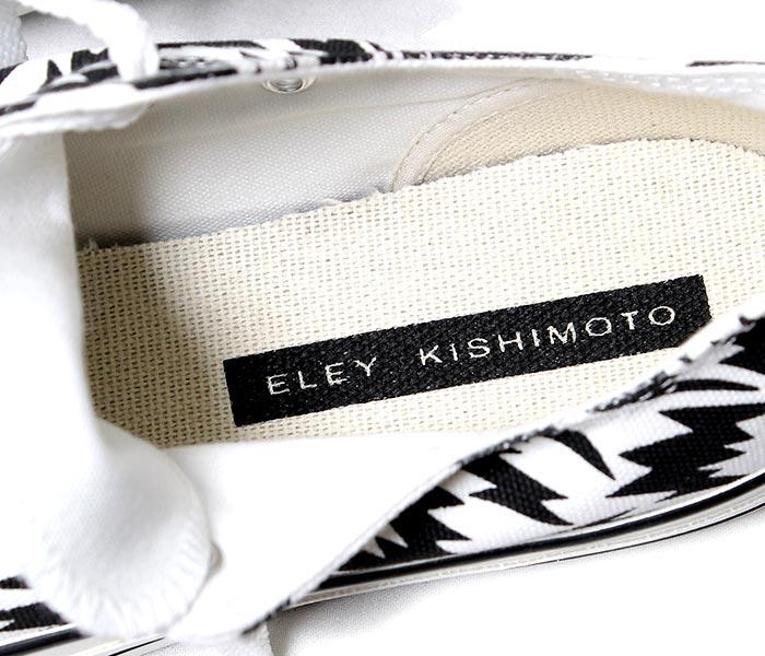 [送料無料]イーリーキシモト/ELEY KISHIMOTO 日本製 FLASH柄 ローカット スニーカー (7006107-CON2FLASH)
