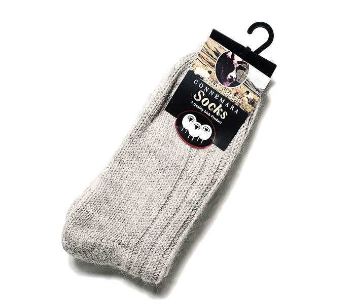 コネマラソックス CONNEMARA SOCKS アイルランド製 ヤコブシープ ソックス 靴下 JACOBS SHEEP WOOL SOCKS (JACOBS-SHEEP-CONNEMARA)