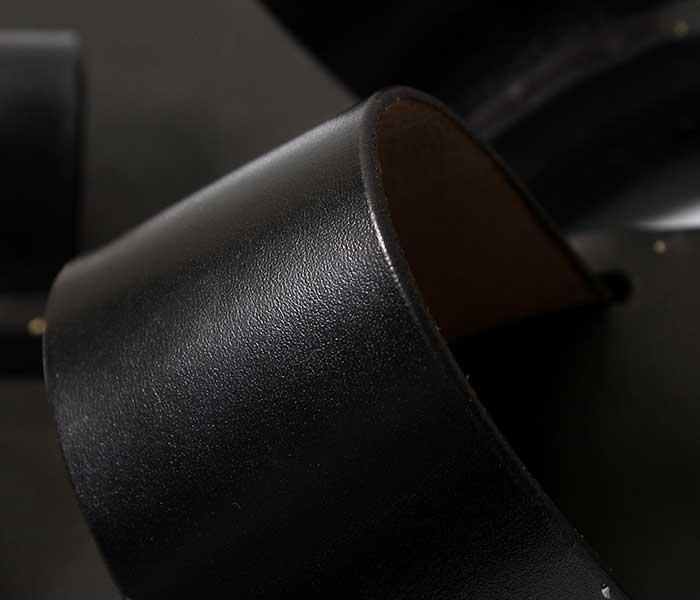 ユッタニューマン JUTTA NEUMANN エルメス HERMES ブラックラティゴレザー ビルケンソール レザーサンダル (HERMES-BLACK-LATIGO-BIRK)