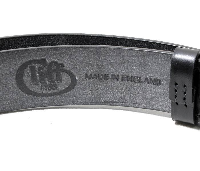 [送料無料]ジャベツクリフ/JABEZ CLIFF 英国製''38mm''ステアアップレザーベルト(JABEZ-38mm-FAT)