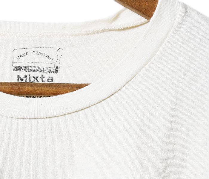 ミクスタ/MIXTA アメリカ製 ''DOG EAT DOG'' プリントTシャツ (MI-71204-DOG-EAT-DOG)