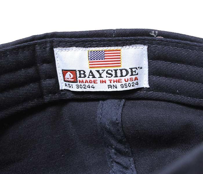 ベイサイド/BAYSIDE アメリカ製 ツイルキャップ コットンキャップ (BA3630-TWILL-CAP)