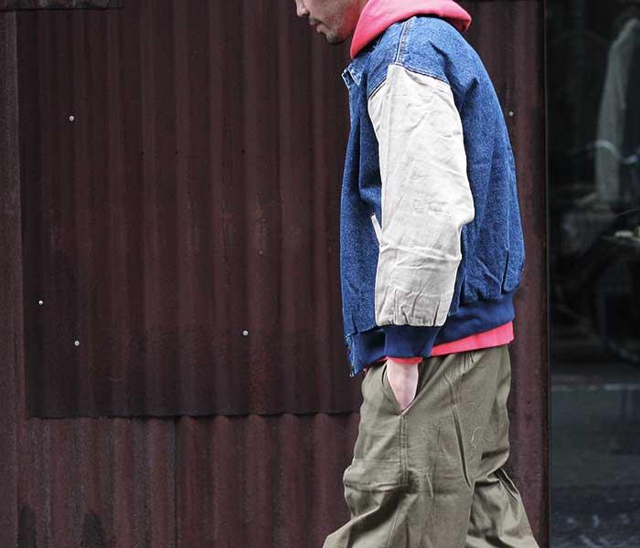 コブラキャップ COBRA CAPS デニム スタジアムジャンパー スタジャン RANGER JACKET 2-TONER WASHED (COBRA-RANGER)