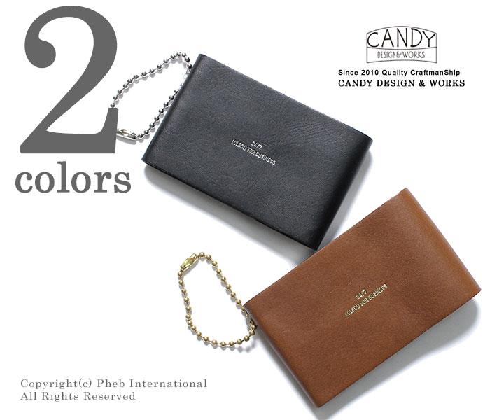 キャンディ デザイン&ワークス/CANDY DESIGN & WORKS 日本製 キャサディ/CASSADY レザーカードケース (CLS-01-CASSADY)