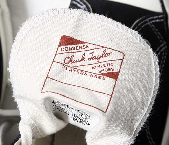コンバース CONVERSE チャックテイラー CT70 ハイカット スニーカー メンズ 日本未発売 CHUCK 70 OX CHUCK TAYLOR PARCHMENT BLACK (CT70-HICUT-MENS-WHBK)