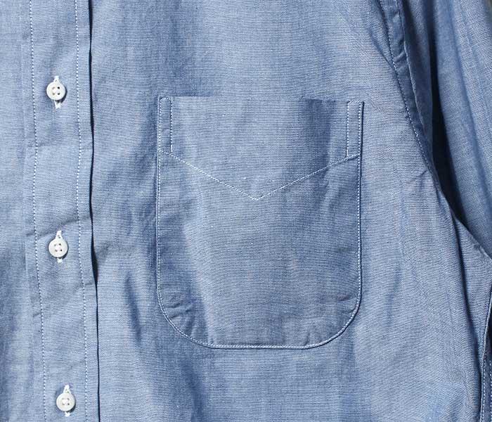 ギットマン ヴィンテージ GITMAN VINTAGE シャンブレー ボタンダウン シャツ CHAMBRAY BD SHIRT MODEL GV02 MADE IN USA (GITMAN-U407)