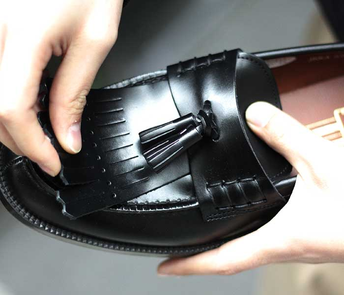 聖林公司 SEILIN & CO. × HARUTA ハルタ別注 2WAY ローファ KILTE TUSSEL 2WAY LOAFER MADE IN JAPAN (HARUTA-S9071)