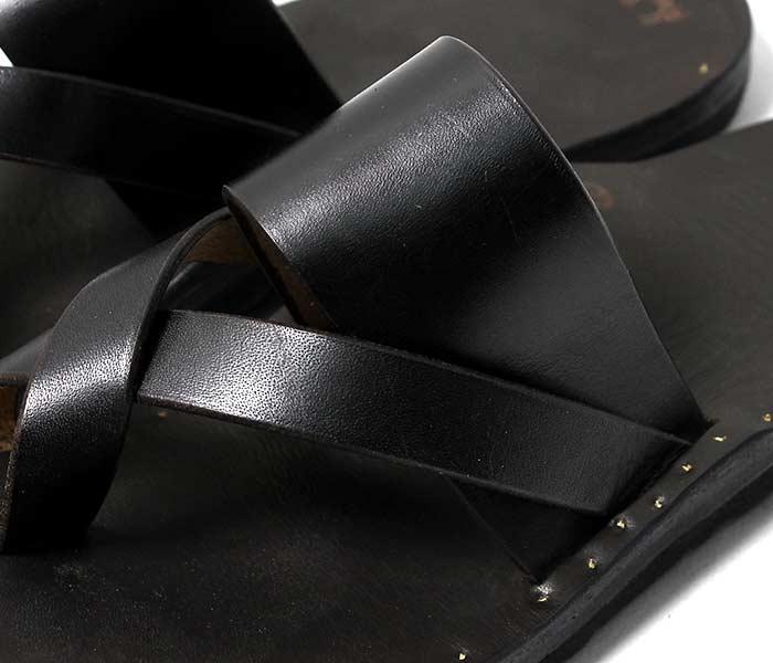 [送料無料]ユッタニューマン/JUTTA NEUMANN アメリカ製 フランク/FRANK ブラックラティゴレザー ビルケンソール レザーサンダル ハンドメイド (FRANK-BLACK-LATIGO-BIRK)