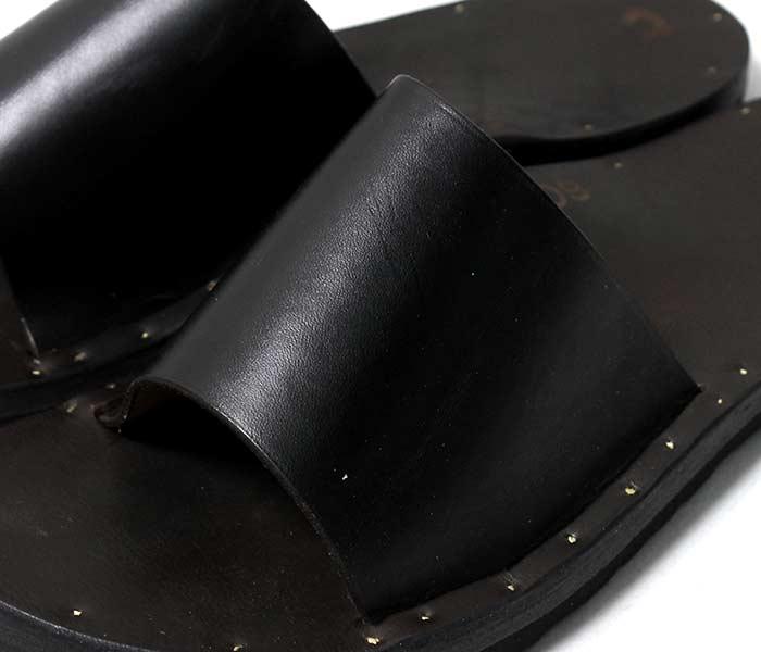 [送料無料]ユッタニューマン/JUTTA NEUMANN アメリカ製 シモーネ/SIMONE ブラックラティゴレザー ビルケンソール レザーサンダル ハンドメイド (SIMONE-BLACK-LATIGO-BIRK)