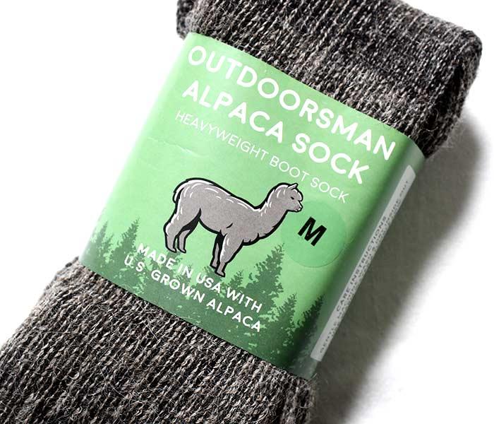 ニーフ NEAFP アメリカ製 アウトドアマン ソックス 靴下 プレーン アルパカ ヘビーウエイト Alpaca Outdoorsman Sock (NFP-W05-OM-SOCK)