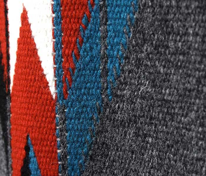 オルテガ ORTEGA'S アメリカ製 チマヨ ベスト スクエア チャコールグレー CHIMAYO SQ VEST CHARCOAL (ORTEGA-SQ-VEST-CHARCOAL)