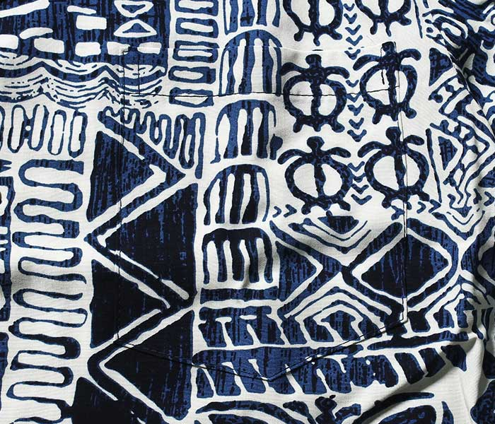 トゥーパームス TWO PALMS アロハシャツ レーヨン ハワイアンシャツ RAYON ALOHA SHIRTS MADE IN USA (TWOPALMS-TURTLE)