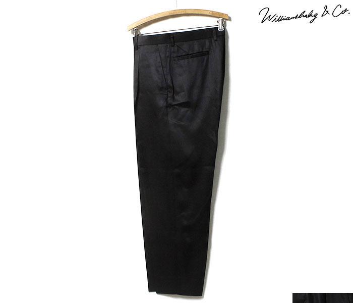 ウィリアムズバーグ&コー Williamsburg & Co. ダンボ テーパード トラウザーズ ブラック パンツ DUMBO TAPERED TROUSERS BLACK MADE IN JAPAN (WB192103-DUMBO-BLACK)