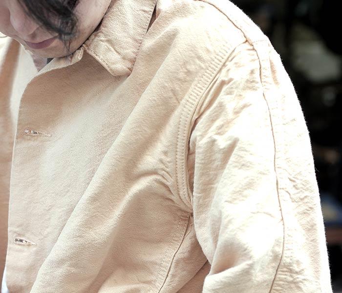 [送料無料]テンダー/TENDER Co. 英国製 ''FAWN LOGWOOD DYE SHOEMAKERS CANVAS'' ダブルフロントバタフライジャケット TYPE 930 DOUBLE FRONT BUTTERFLY JACKET (930-JKT-SHOEM-CNVS-LOGWOOD)