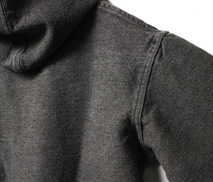 テンダー TENDER Co. 英国製 ウール フーデッドジャケット ライランドウール コットンツイル インディアンブラック染め パーカー TYPE 936 Hooded Shepherd's Coat (936-HOOD-WOOL-BLACK)