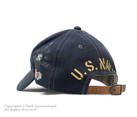 トイズマッコイ/TOYS McCOY ''U.S.NAVY VF-3 FELIX THE CAT''コットンキャップ(TMA1504)