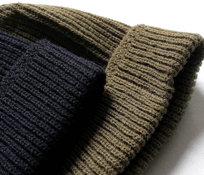 TOYS McCOY トイズマッコイ 日本製 ミリタリー ニットキャップ ワッチキャップ MILITARY KNIT CAP RED CROSS (TMA1633)