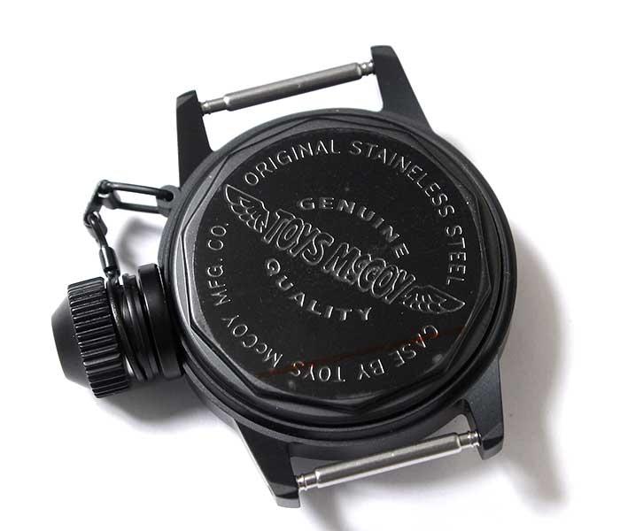 トイズマッコイ TOYS McCOY ブラック FELIX ミリタリーウォッチ フィリックス 100周年記念モデル U.S.NAVY 腕時計 (TMA1901-BLK)