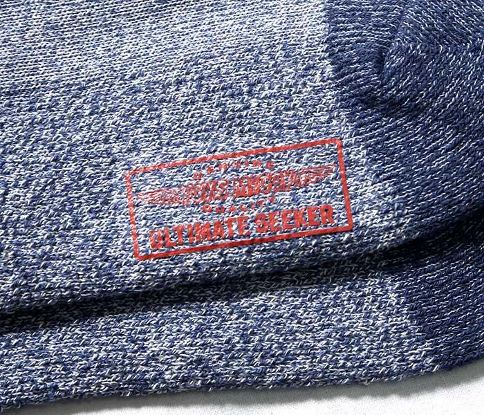 トイズマッコイ TOYS McCOY カラー杢 3パック 3足セット ブーツソックス 靴下 (TMA1904)