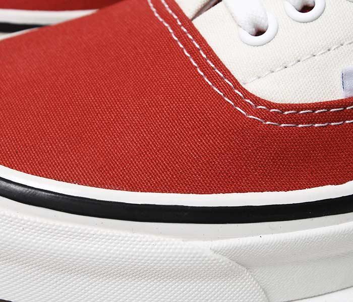 バンズ・ヴァンズ/VANS 限定モデル アナハイムファクトリー/ANAHEIM FACTORY ''OG RED/OG WHITE'' エラ ERA 95 DX (VN0A2RR1U8Q-RED-WHT)