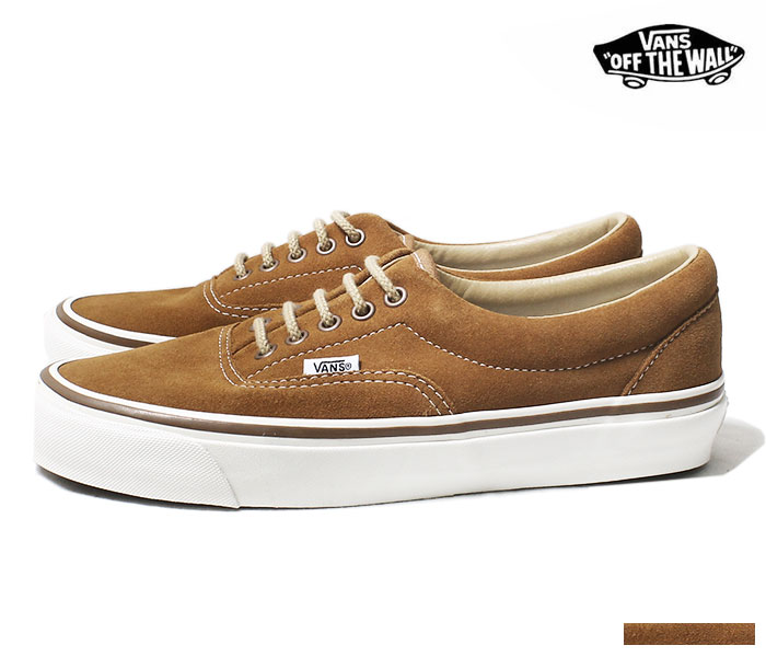 VANS バンズ 限定モデル ANAHEIM FACTORY COLLECTION ''OG HART BROWN/SUEDE'' エラ スニーカー UA ERA 95 DX スウェード 2018AW (VN0A2RR1UMG-BRW-18AW)
