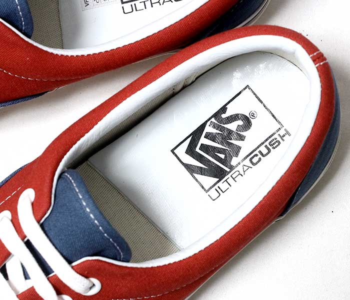 VANS バンズ 限定モデル ANAHEIM FACTORY COLLECTION ERA 95 DX NAVY/RED エラ ネイビー/レッド スニーカー (VN0A2RR1VPK-NVRD-19SS)