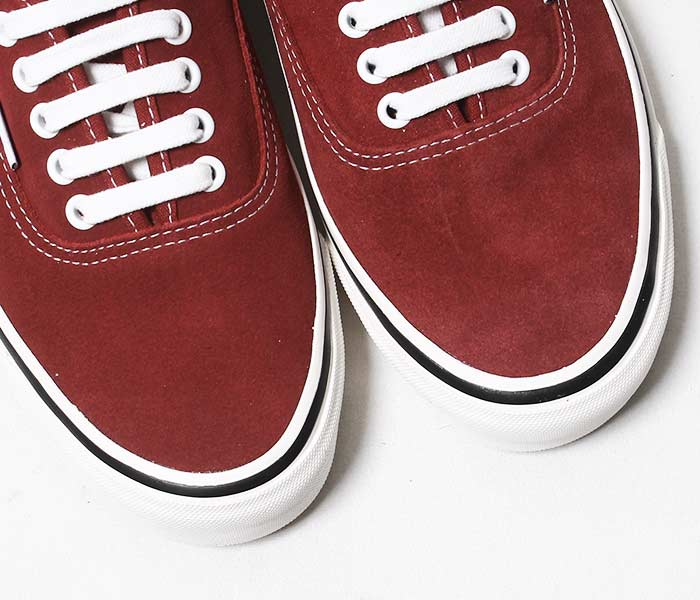 VANS バンズ 限定モデル ANAHEIM FACTORY COLLECTION ''OG BRICK/SUEDE'' オーセンティック UA AUTHENTIC 44 DX ブリック スウェード (VN0A38ENUL2-BRICK)