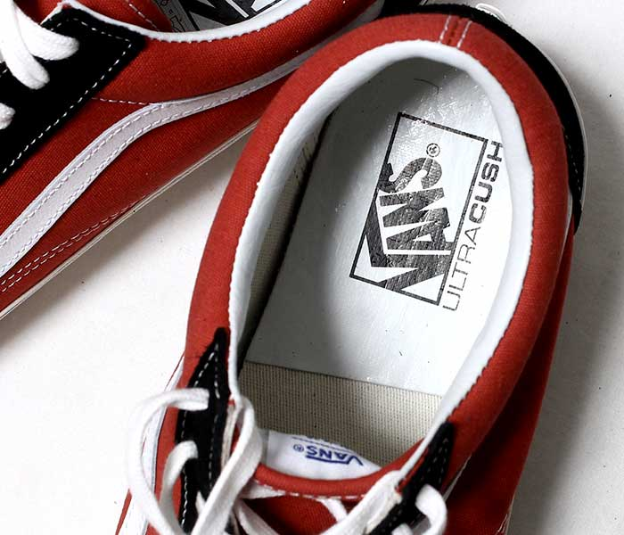 VANS バンズ 限定モデル ANAHEIM FACTORY COLLECTION OLD SKOOL 36 DX BLACK/RED オールドスクール ブラック/レッド (VN0A38G2UBS-BKRD-19SS)
