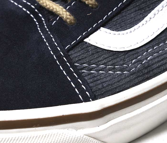 VANS バンズ 限定モデル ANAHEIM FACTORY COLLECTION ''OG NAVY/SUEDE/CORDUROY'' オールドスクール ジャズ UA OLD SKOOL 36 DX コーデュロイ スウェード 2018AW (VN0A38G2UPH-NAVY-18AW)