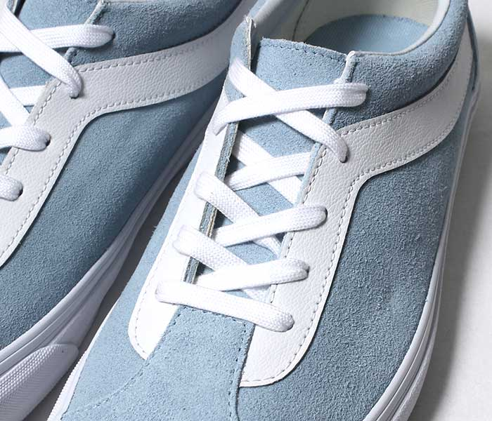 VANS バンズ 限定モデル BOLD NI SUEDE COOL BLUE / TRUE WHITE ボールドニー スニーカー スエード 2019SS (VN0A3WLPVLJ-BLU-19SS)