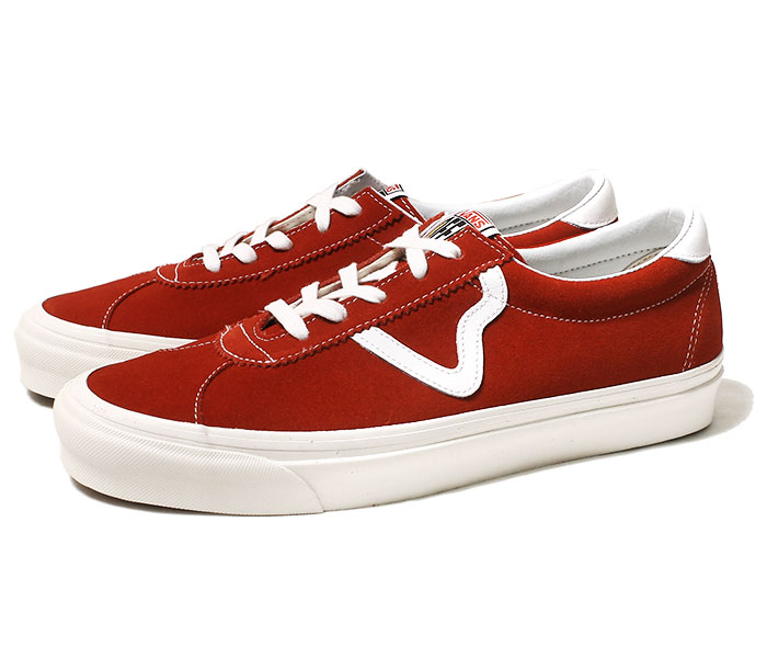 VANS バンズ 限定モデル ANAHEIM FACTORY COLLECTION STYLE 73 DX RED スタイル 73 DX レッド スニーカー スウェード (VN0A3WLQVTM-RED-19SS)