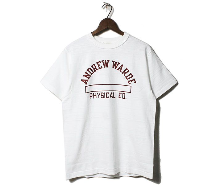 ウエアハウス WAREHOUSE ANDREW WARDE Tシャツ プリントT MADE IN JAPAN (19SS-4601-ANDREW-WARDE)