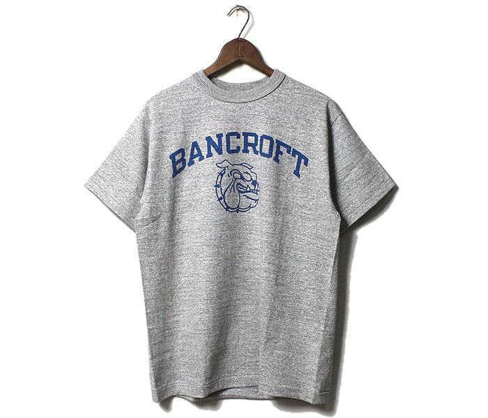 ウエアハウス WAREHOUSE BANCROFT ブルドッグ Tシャツ プリントT MADE IN JAPAN (19SS-4601-BANCROFT)
