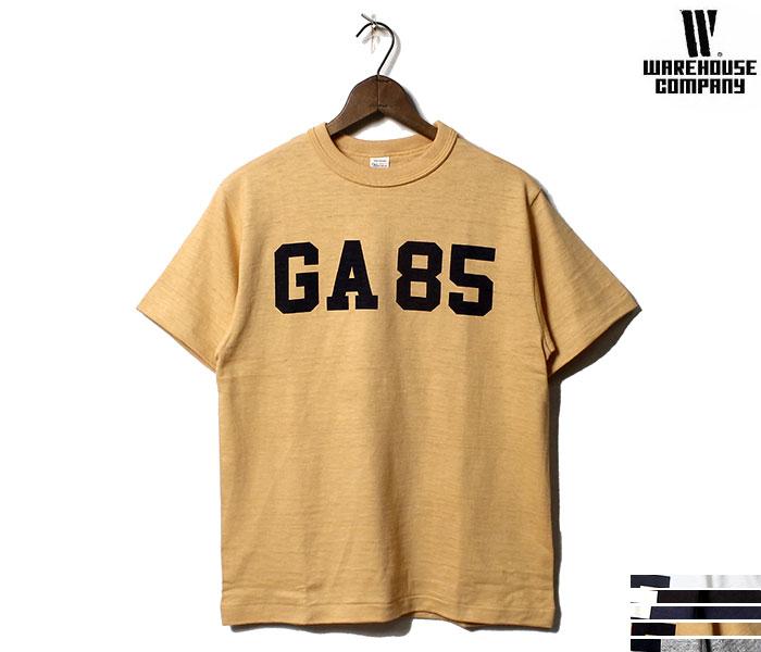 ウエアハウス WAREHOUSE GA85 Tシャツ プリントT MADE IN JAPAN (19SS-4601-GA85)
