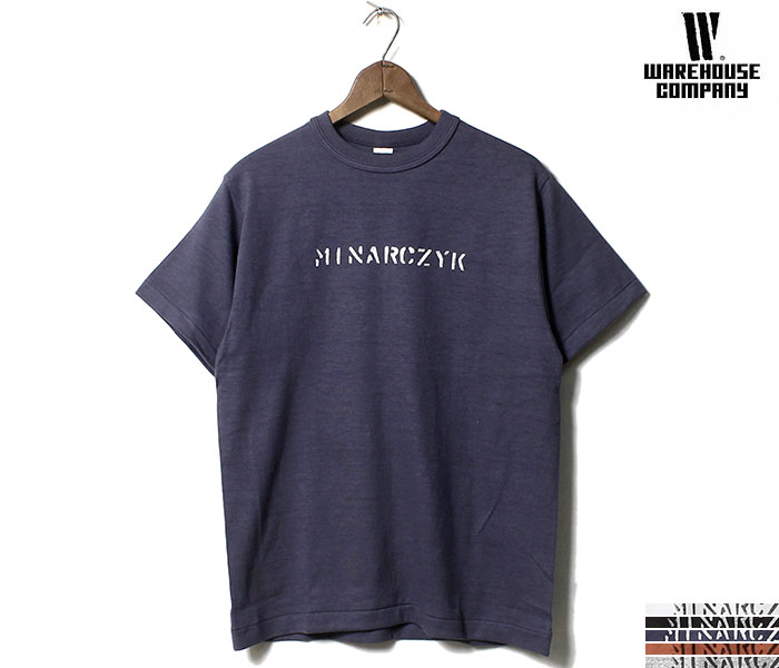ウエアハウス WAREHOUSE MINARCZYK Tシャツ プリントT MADE IN JAPAN (19SS-4601-MINARCZYK)