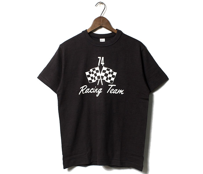 ウエアハウス WAREHOUSE RACING TEAM Tシャツ プリントT MADE IN JAPAN (19SS-4601-RACING-TEAM)