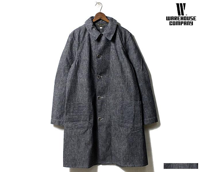 WAREHOUSE ウエアハウス 日本製 シャンブレー ショップコート 2119 SHOP COAT (2119-SHOP-COAT)