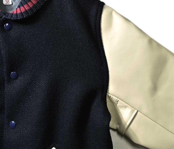 WAREHOUSE ウエアハウス 日本製 スタジャン アワードジャケット AWARD JACKET プレーンモデル (2129-AWARD-JACKET-PLAIN)