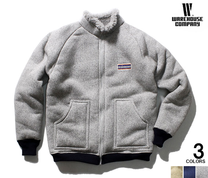 WAREHOUSE ウエアハウス 日本製 クラシックパイル ジャケット レトロパイル 2130 CLASSIC PILE JACKET A TYPE (2130-CLASSCI-PILE-A-TYPE)