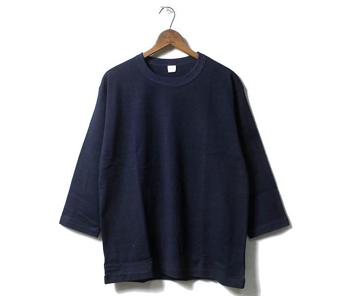 ウエアハウス/WAREHOUSE インディゴ 7分袖 ロンT Tシャツ MADE IN JAPAN (4056-7BU-INDIGO)