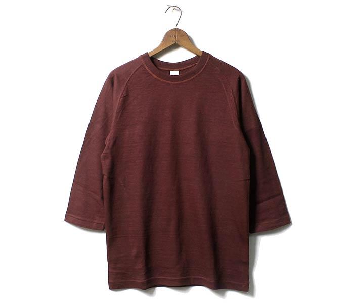 ウエアハウス/WAREHOUSE 日本製 7分袖 ロンT Tシャツ フリーダムスリーブ プレーンT (4049-7BU-FREEDOM)